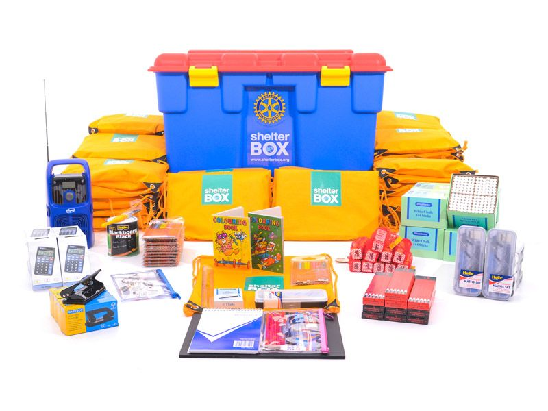 SchoolBox education after a disaster ShelterBox NZ
