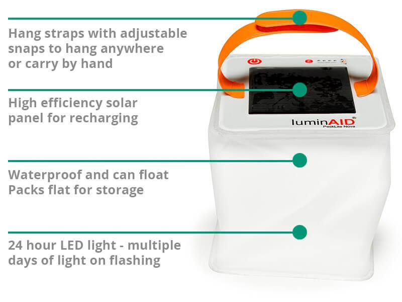 ShelterBox NZ solar light