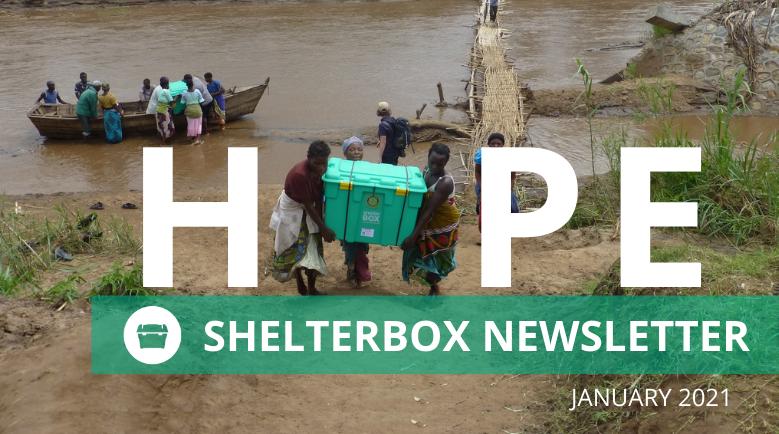 ShelterBox NZ January Newsletter