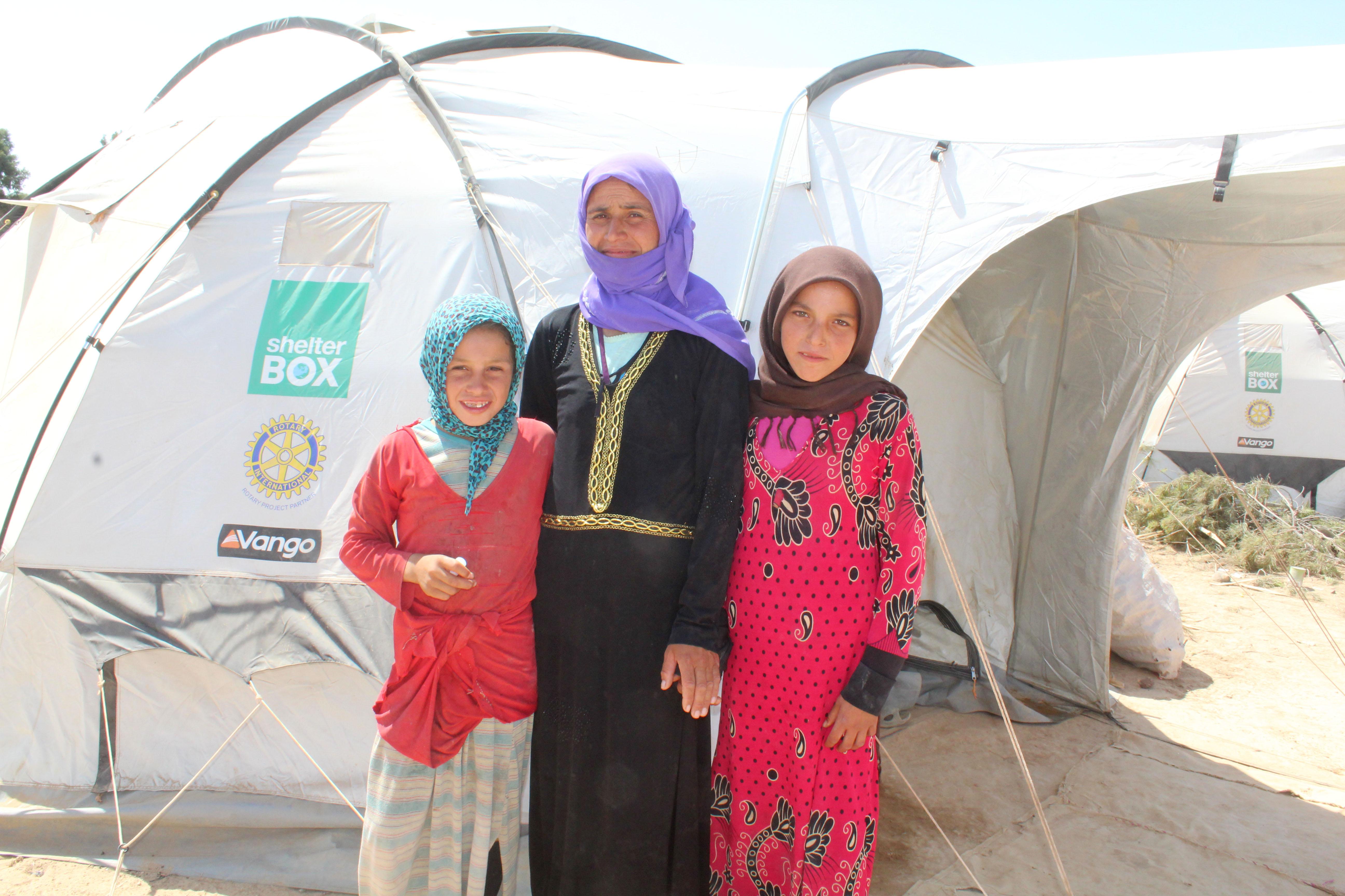 ShelterBox NZ international aid in Syria