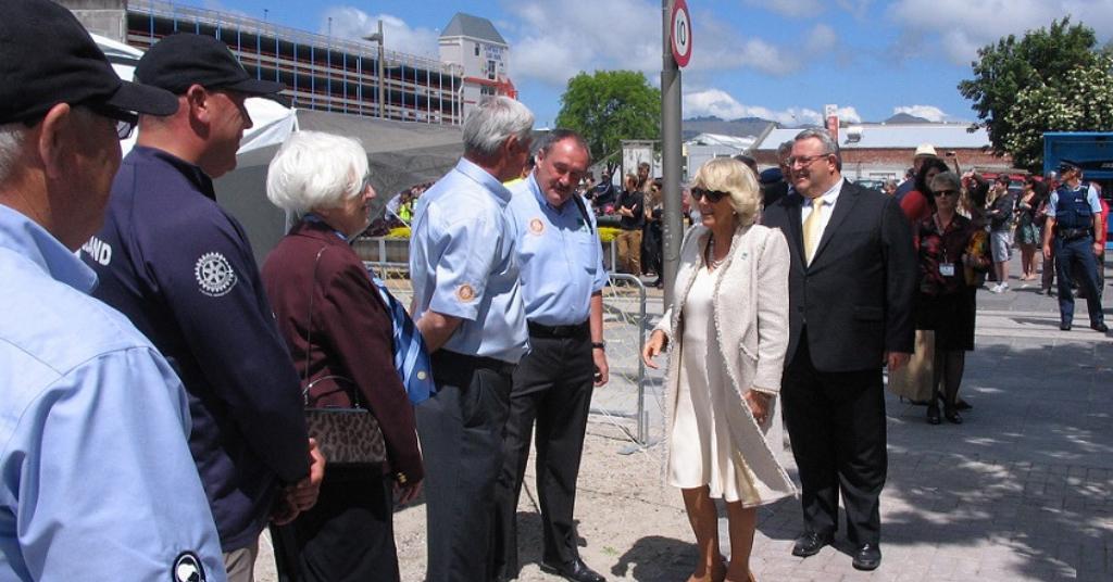 ShelterBox NZ Royal Visit