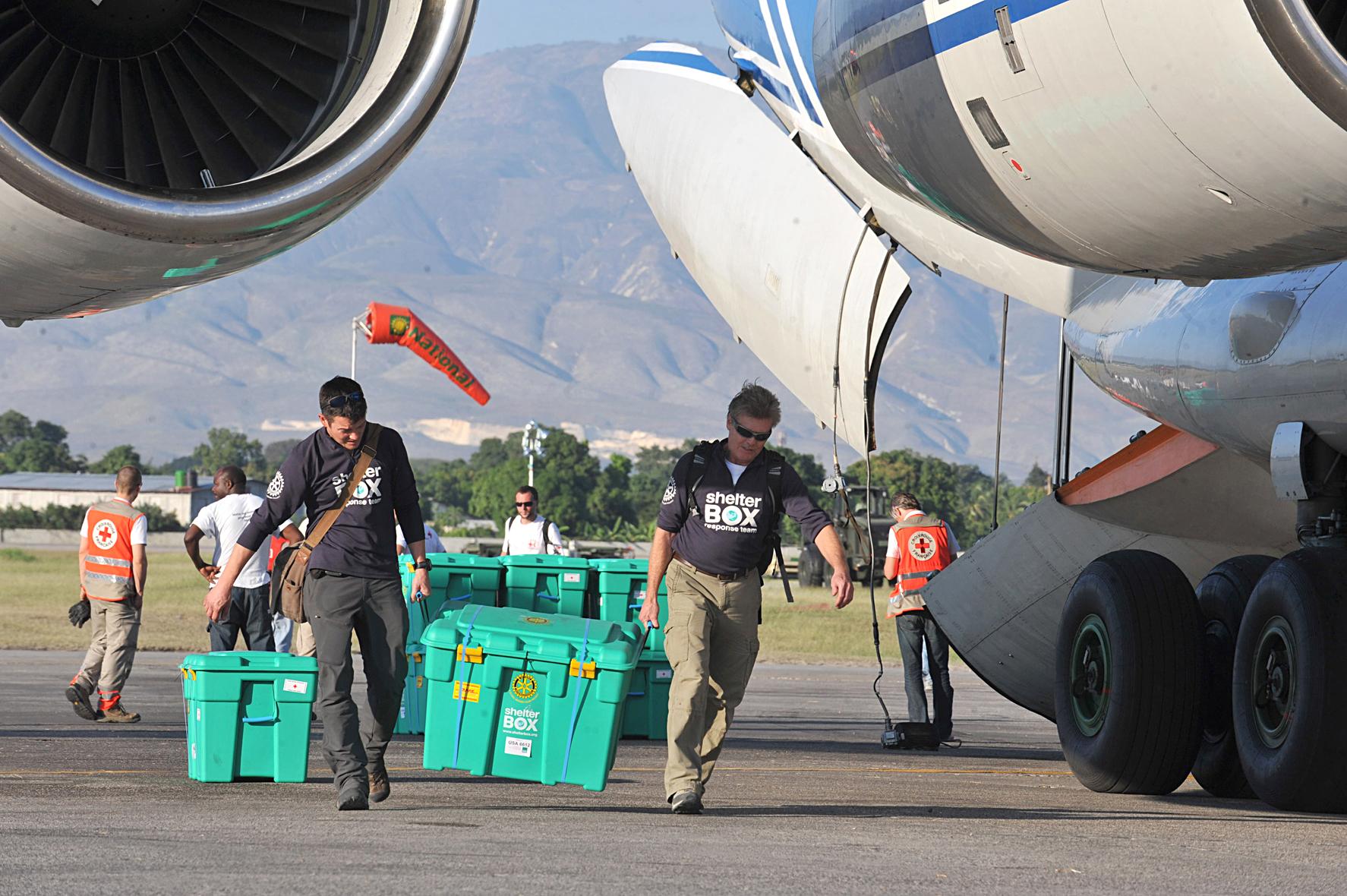 ShelterBox New Zealand disaster response Haiti